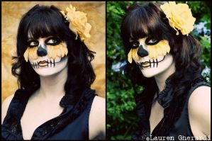 Sugar Skull- Kristina by lmgphotography
