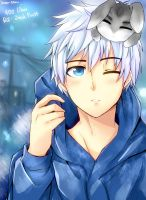 Jack Frost and Little Bunnymund by kago-tan