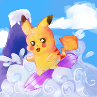 Day 4 pokeddexy challenge: fave electric type by fuchsiasquid