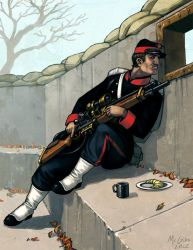 In Her Majesty's Name: French Sniper by McGibs
