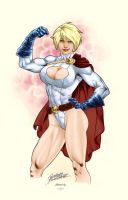 Powergirl by surprize