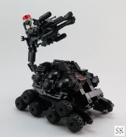 Space Police SCORPION Unit by spanglidermish