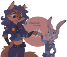 Welcome, rookie! by littlepolka