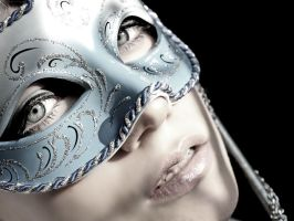Me and my mask by Crispey