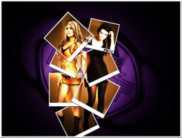 Emma and Paige NXT (WWE) by TarghanM