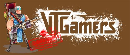 Vtgamers mascot and logo by Axigan