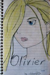 Olivier Mira colored by lilianadc