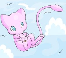 Quick Mew by Pure-Heart-Latios