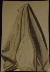 Art 15 Assignment: Draped fabric by goldenspider