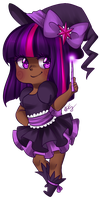 Twilight Sparkle Witch by PastelPyon