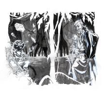Dagobah Ghosts commission by mistermoster