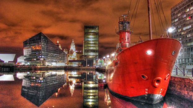 Liverpool Red Boat HDR by Paul-Madden