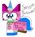 Bizniz Unikitty! by teamlpsandacnl