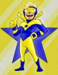 Booster Gold color by AlanSchell