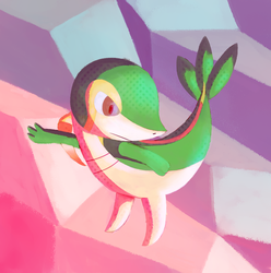 Snivy by Remiaro