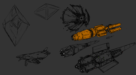 Early Space Race Design Language - WIP by Daemoria