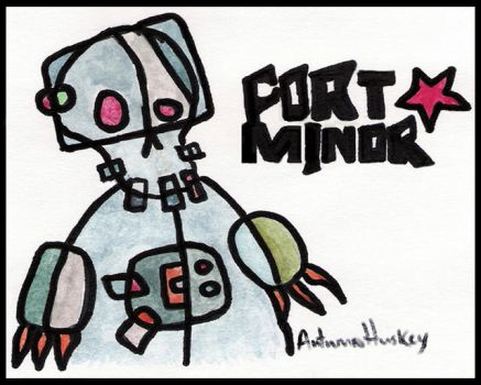 Fort Minor Shullbot by fortminor-fans