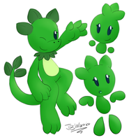 Daily Character #043 - Flora the Elemental by JBtheShadow