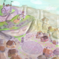 Manor Village (school assignment) by TheRealNeolize
