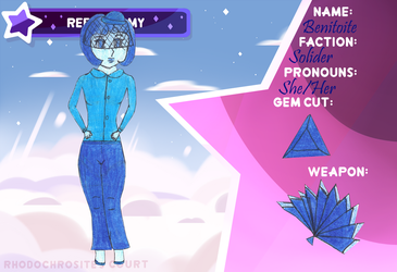 [RC: Rebels] Benitoite by waterfairy555