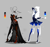 Outfit design - 219 - 220  - closed by LotusLumino