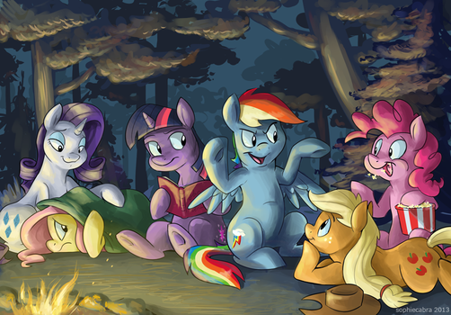 Fireside Friendship by SpainFischer