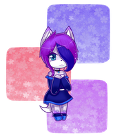 Comision .:Midnightthecatwolf:. by NanaMariana22