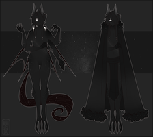 Scuris - The Umbral God by Nyascree