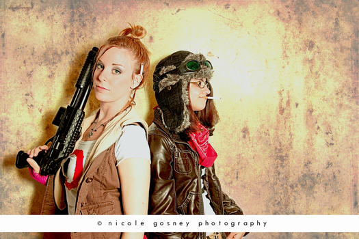 Tank Girl + Jet Girl by prominent-portraits