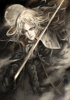 Castlevania Symphony of the Night - Alucard by FrothManjyu