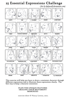 25 Lupine Expressions by KeksWolf