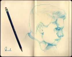 Sketchbook Jensen by kleinmeli