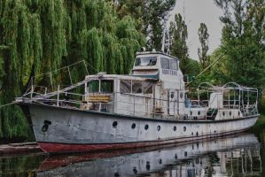 HDR Boat by Misairu