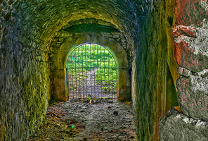 Remains of Roznow Castle by marrciano