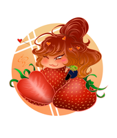 [+Video] Chibi Strawberry - Mini Chibi Series! by Rica-Sensei