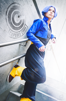 Believe what you want - Trunks DBZ by FantasticLeo