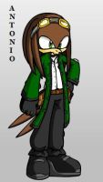 Antonio the Hawk - NEW VERSION by ParkesietheHedgehog