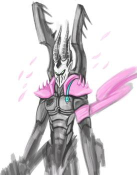 Kabal of the Cherry Blossom WIP by SlicedWatermelon