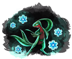 Grovyle by Engavar