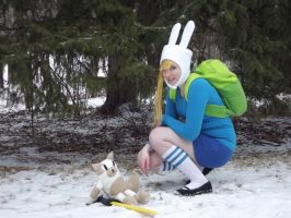 Fionna and Cake by MishaCosplay