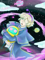 Oliver vocaloid feat Popopo fanart by rubifanfic