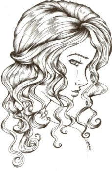 I luff wavy hair by MagnoliaX