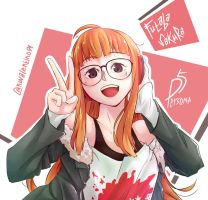 Futaba Sakura by viewtiful94