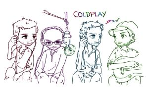 Coldplay by GRLEE