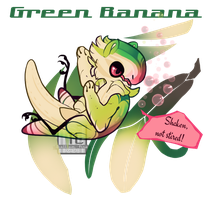 Green Banana (JR NameYourPrice, closed!) by Thalliumfire