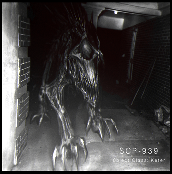 SCP-939 by cinemamind