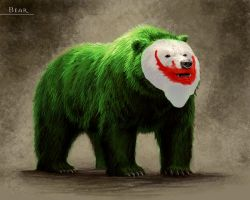 why so serious, bear version by killingspr