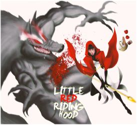 Little Red Riding Hood by elNevan
