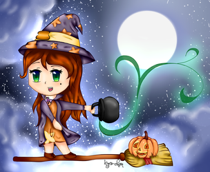 Little Witch by Kyrrachan