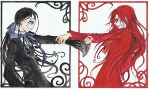 Grell by BlueCaramel
